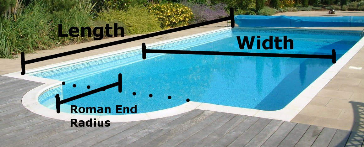Winter Swimming Pool Cover Price Calculator